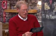Mícheál Ó Muircheartaigh gave a dramatic reading of Camila Cabello's 'Havana' on The Six O'Clock Show last night