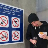 Trinity's 'rulebreaker guy' spoke out about how frustrating it was to go viral