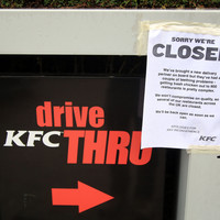 The UK could be without many KFC restaurants all week