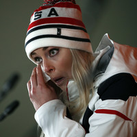 American star Lindsey Vonn bids emotional farewell to Olympic downhill career with bronze