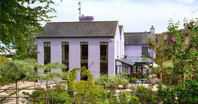 Artistic haven in Greystones with fairytale gardens and its own sauna