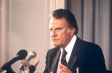 Tributes paid to influential US preacher Billy Graham who has died at age 99