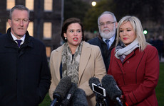 Mary Lou McDonald wasn't impressed after meeting Theresa May in London