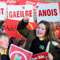 The Council of Europe has told the UK to pass laws to protect the Irish language
