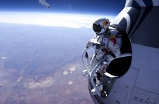 Video, photos: Jumping out of a space capsule at 21,800 metres