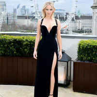 'Get a grip': Jennifer Lawrence responded to those suggesting she was cold in *that* Versace gown