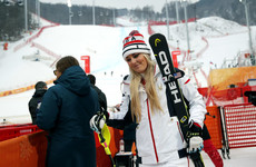 The final race of Lindsey Vonn's Olympic career ends in disappointment