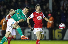 Cork striker receives one-match ban after controversial red card