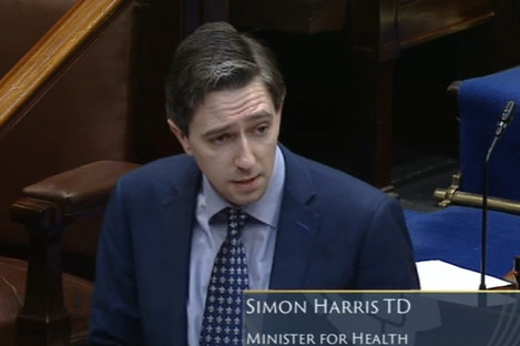 Health Minister Simon Harris says PTSB should appear before the Oireachtas Finance Committee next week.