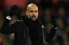 FA charge Guardiola over yellow ribbon protest