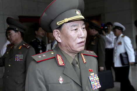 Kim Yong Chol pictured in 2007.