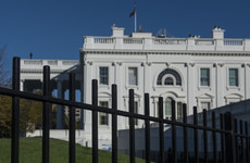 White House on lockdown as car crashes into security barrier