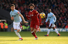 As it happened: Liverpool vs West Ham, Premier League