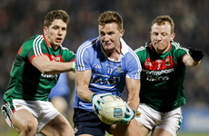 Rock leads the way as Dublin make it four league wins from four in Mayo