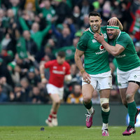 All the highlights from Ireland's pulsating five-try win over Wales