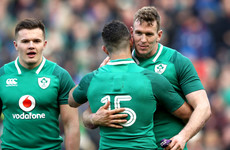 'It doesn't need to be said what is expected when you wear a 13 jersey with Ireland'