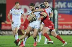 Ulster surrender half-time lead to sink to heavy defeat to Beirne-inspired Scarlets