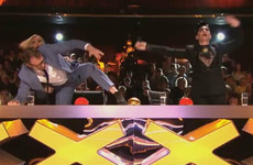 People were absolutely raging that Jason Byrne accidentally hit the golden buzzer on last night's Ireland's Got Talent