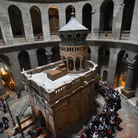 The church where Jesus is buried has been closed in a row over tax