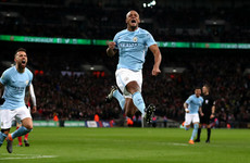 Guardiola wins first trophy as Man City boss with clinical display in Carabao Cup final
