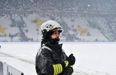 Serie A clash between Juventus and Atalanta snowed off as blizzard hits Turin