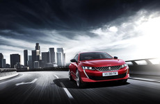 Peugeot has turned up the style for the new 508