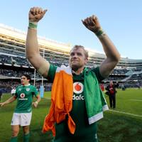 Jamie Heaslip announces his retirement with immediate effect