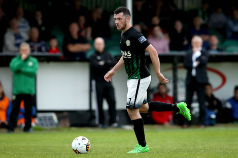 Ryan Brennan joined St Patrick's Athletic after a turbulent season with Bray.