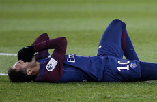Neymar ruled out of Real Madrid clash after metatarsal injury confirmed