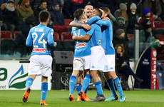 Watch: This Napoli goal involving all 11 players is a thing of beauty