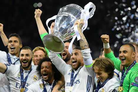 Current Champions League holders Real Madrid.