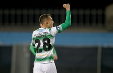 Ex-Aston Villa youngster's 30-yard corker the pick of Shamrock Rovers' six goals