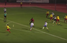 A French third division game produced two of the best goals you'll see all year