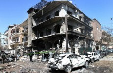 Dozens killed as twin explosions strike Syrian capital