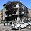 Dozens killed as twin explosions strike Syrian capital