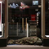 Here's what to do if you see a homeless person sleeping rough tonight