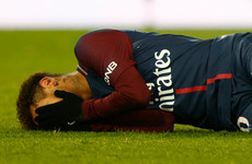 Blow to PSG's Champions League hopes as Neymar set for surgery