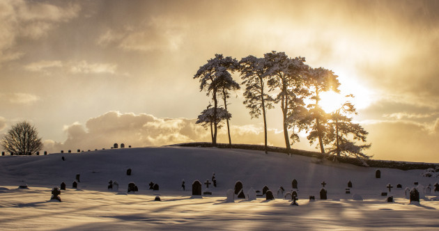 Pictures: A snowbound zoo, snowball fights, and stunning vistas - the Beast hit Ireland and everything looked amazing