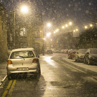 Red snow-ice warning issued for ALL counties until 3pm Friday