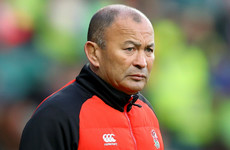 England coach Eddie Jones to avoid public transport following train abuse