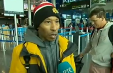 This rapper is super pissed he can't get out of Ireland because of the weather conditions