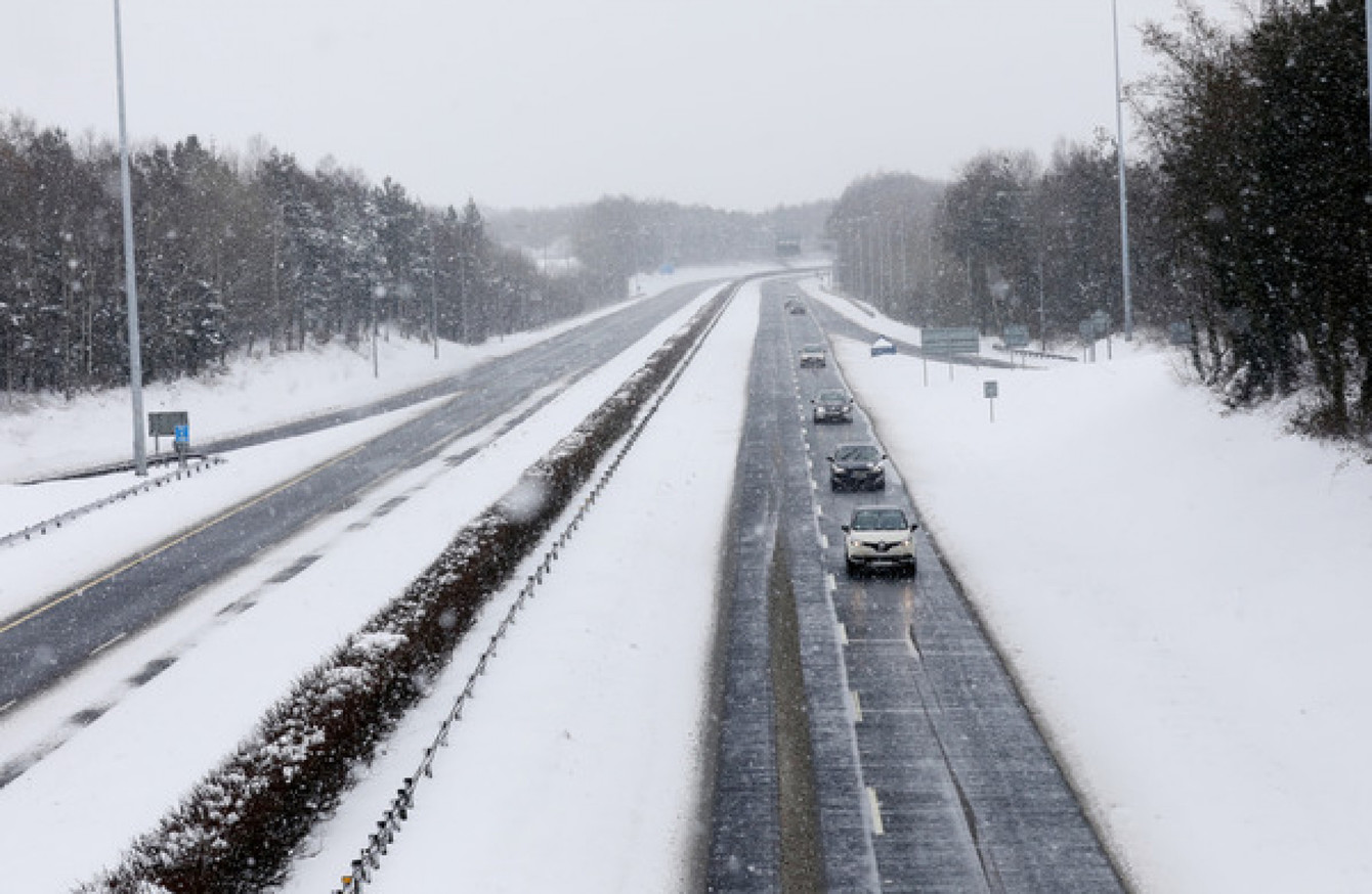 Up to one metre of snow forecast to fall in some eastern