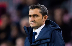 Valverde slams 'invisible penalty' after Barcelona held at Las Palmas