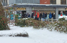 Some supermarkets are starting to reopen but most are remaining shut until tomorrow
