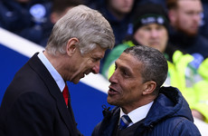 'He wants to get things right' - Hughton backs 'outstanding' Wenger to turn Arsenal around