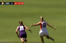 Watch: Cora Staunton scores impressive long range goal as she continues to thrive in Women's AFL
