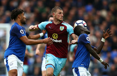 Burnley's first win in 13 gives Everton the blues and moves Clarets to within 5 points of Arsenal