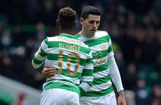 Dembele on the double as Celtic cruise into Scottish Cup semi-finals