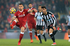 As it happened: Liverpool vs Newcastle United, Premier League