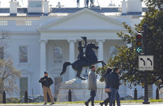 White House on lockdown after shots fired